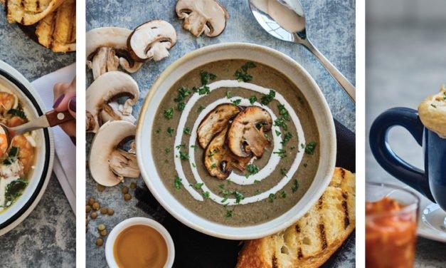 ¡Sopas! Prepara las más deliciosas