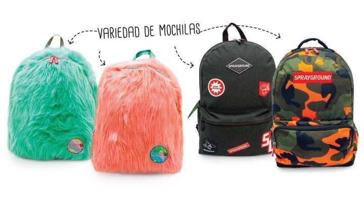 Variedad de mochilas - Varios Códigos
