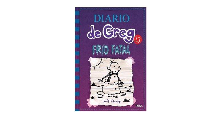 Diario de Greg, Frío Fatal. Jeff Kinney - 9786075277783