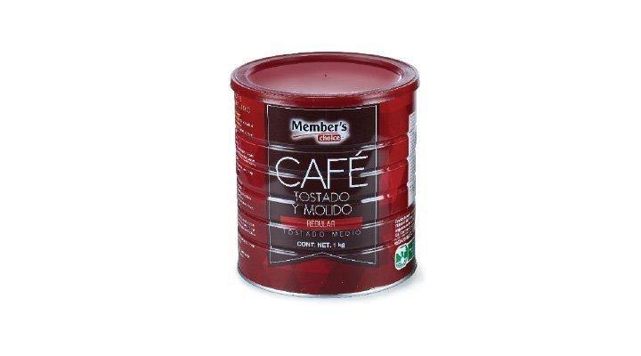 Café Tostado Molido 1 kg Member's Choice - 7501008841266