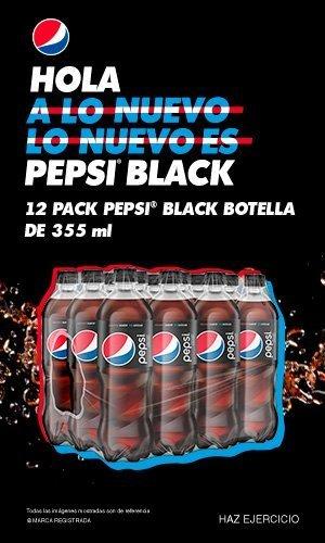 Anuncio: Hola a lo nuevo. Lo nuevo es Pepsi Black