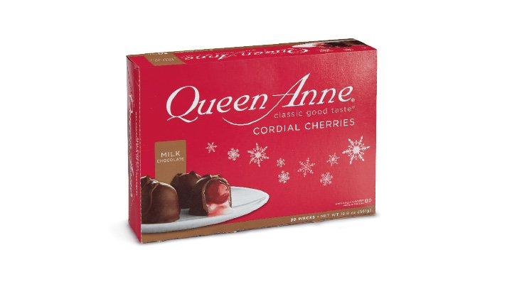 CHOCOLATE CON CEREZA 561 g QUEEN ANNE