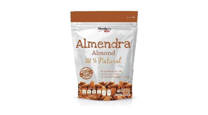 ALMENDRA ENTERA 850 g MEMBER'S CHOICE - 7500093831831