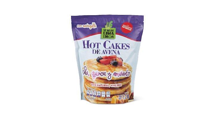 HARINA PARA HOT CAKES DE AVENA 1.2 kg EAT NATURAL LIMA LIMÓN - 7500462232443