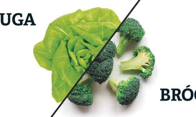 Dos vegetales llenos de vitamina C