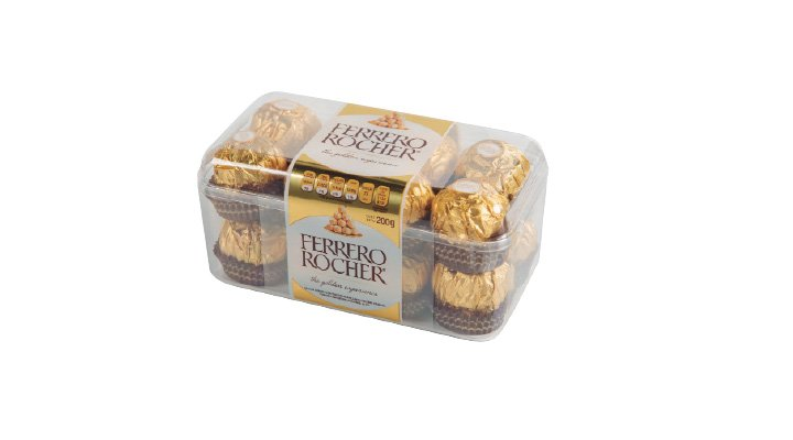 CHOCOLATE 16 pzas. FERRERO ROCHER - 7898024390107