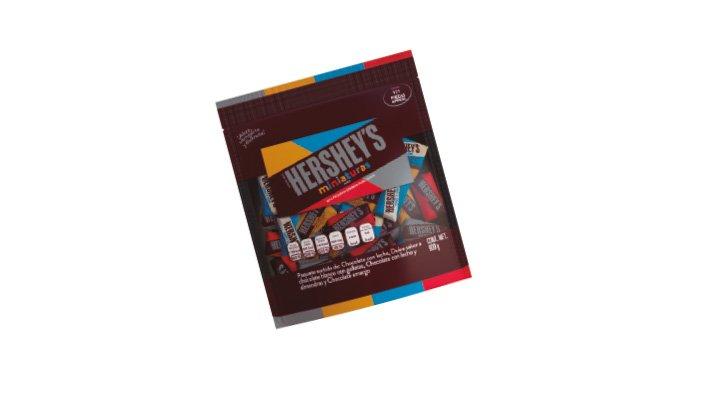 CHOCOLATES MINIATURA 900 g HERSHEY'S