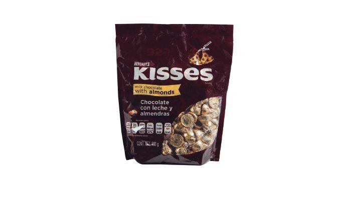 KISSES ALMONDS 900 g HERSHEY'S - 7501024522996