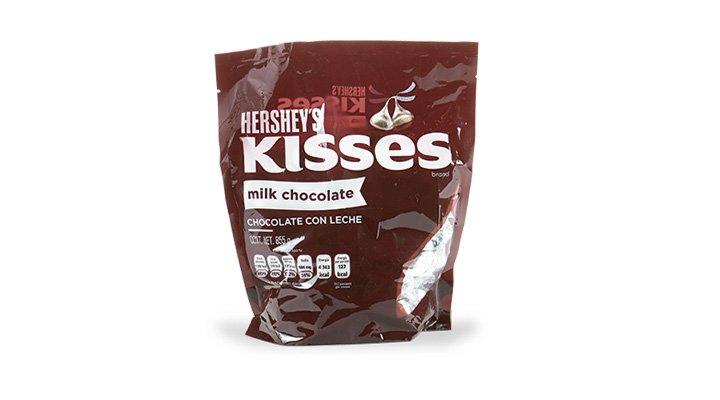 KISSES MILK 855 g HERSHEY'S - 7501024598144