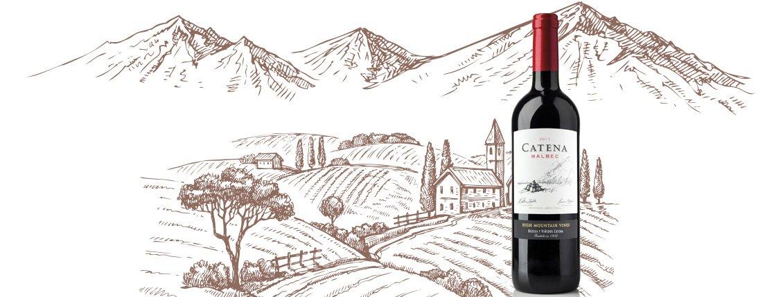 Catena, un vino tinto de sabor envolvente