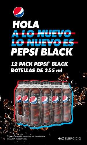 Anuncio: Lo nuevo es Pepsi Black