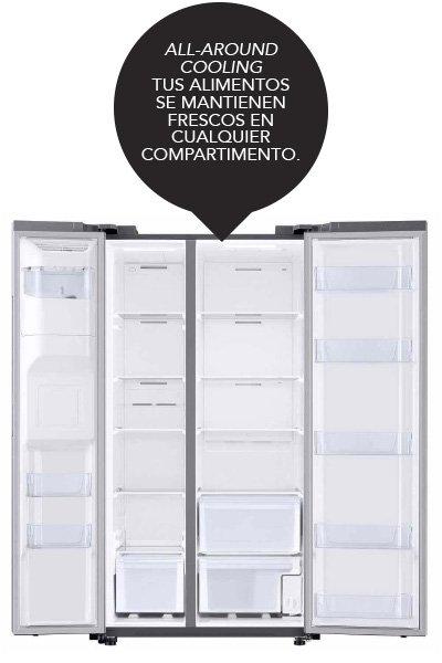 Interior Refrigerador Samsung