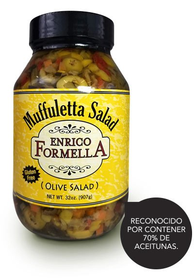 Muffuletta Salad, Enrico Formella