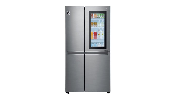REFRIGERADOR INSTAVIEW 27 pies, con wifi, tecnología LG SmartThinQ y Smart Diagnosis LG
