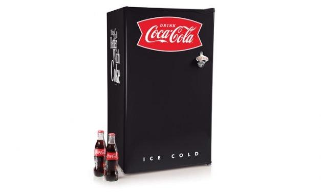 Frigobar con elegante diseño: ¡sí!, de Coca Cola