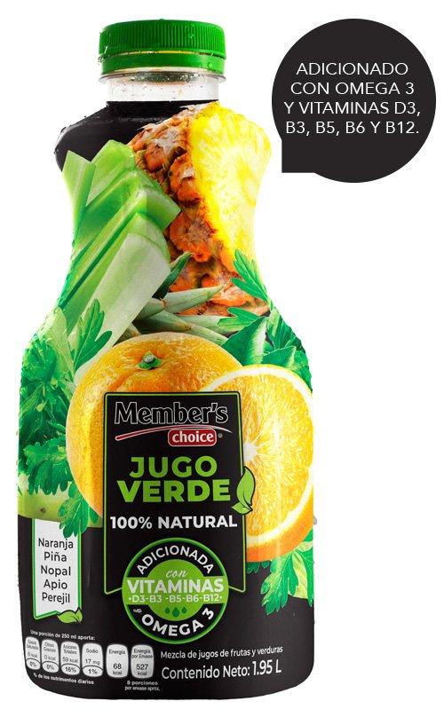 JUGO VERDE 1.95 L MEMBER'S CHOICE