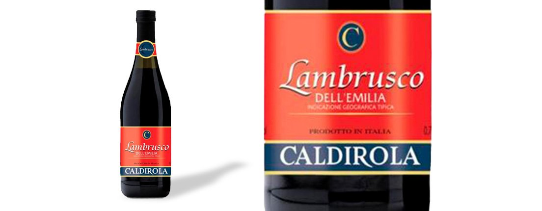 Caldirola, Lambrusco DELL'EMILIA