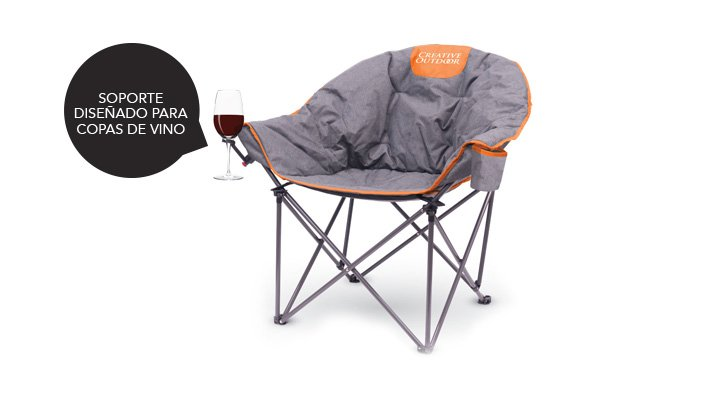 SILLA PLEGABLE WINE CHAIR