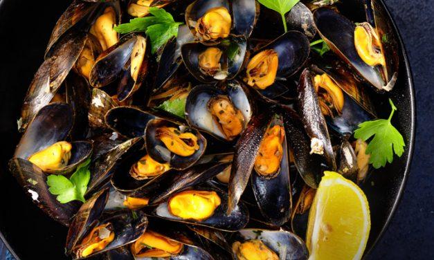 Mejillones, nutrición con sabor a mar