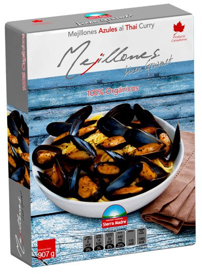 MEJILLONES AZULES AL THAI CURRY