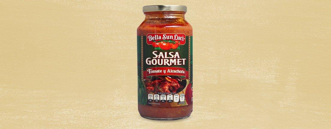 Bella Sun Luci, salsa gourmet de tomate y alcachofa