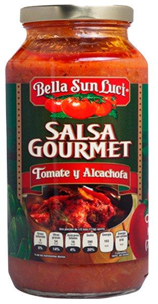 Salsa Gourmet Tomate y Alcachofa, Bella Sun Luci