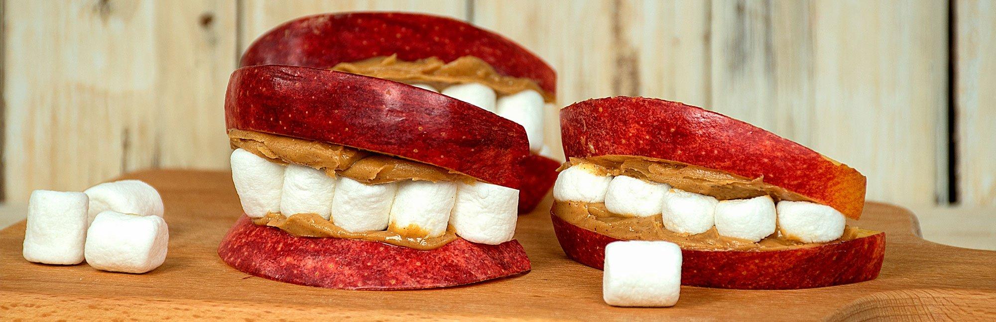 Dentaduras de Manzana