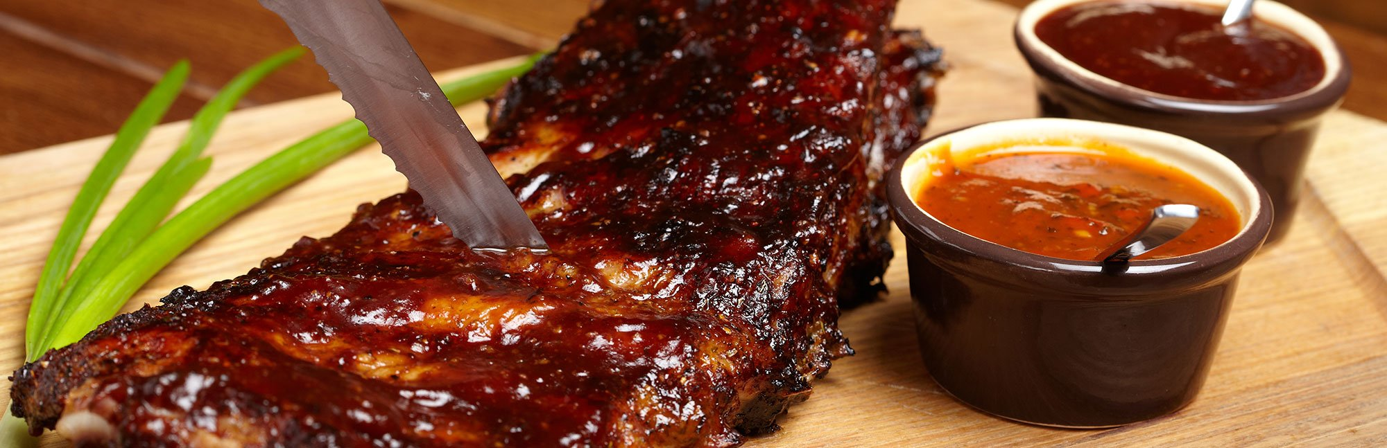 Brochetas de Carne a la Barbecue
