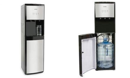 Despachador de agua ideal para bebidas frías o calientes.