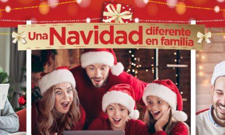 Una Navidad muy diferente, pero claro, ¡En familia!