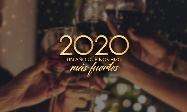 2020, ¡un año inolvidable!