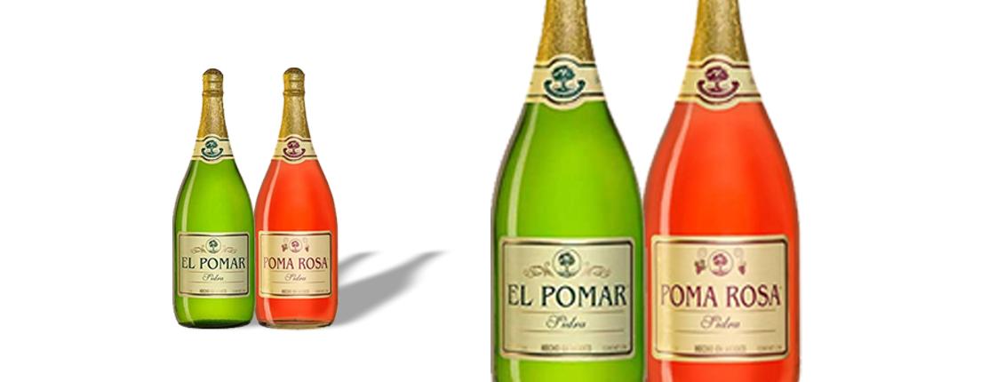 Sidras El Pomar y Poma Rosa, ¡las mejores para brindar!
