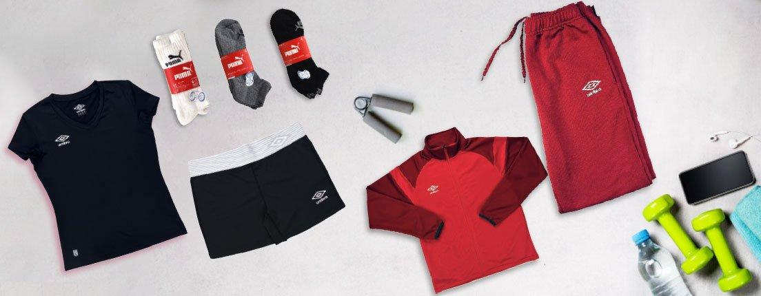 ¡Ejercítate con la mejor ropa deportiva!