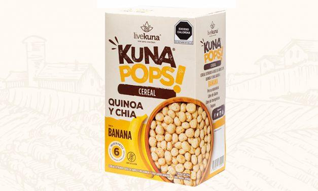 Quinoa y chía en un solo cereal: Kuna Pops!