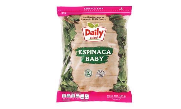 Espinaca Baby de Daily Salad