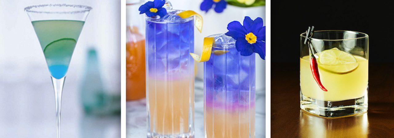 Crea un arcoíris de sabores con estas divertidas bebidas