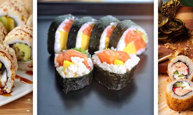 ¡Sushi hecho en casa!