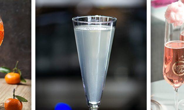 Bebidas burbujeantes de exquisito sabor