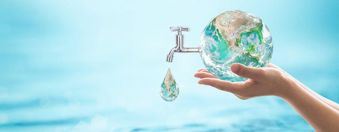 Ahorro de agua: La mejor ayuda para vivir mejor.